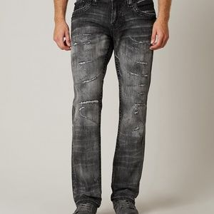Rock Revival Relaxed Straight Jean